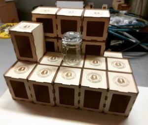 Фанерные коробочки